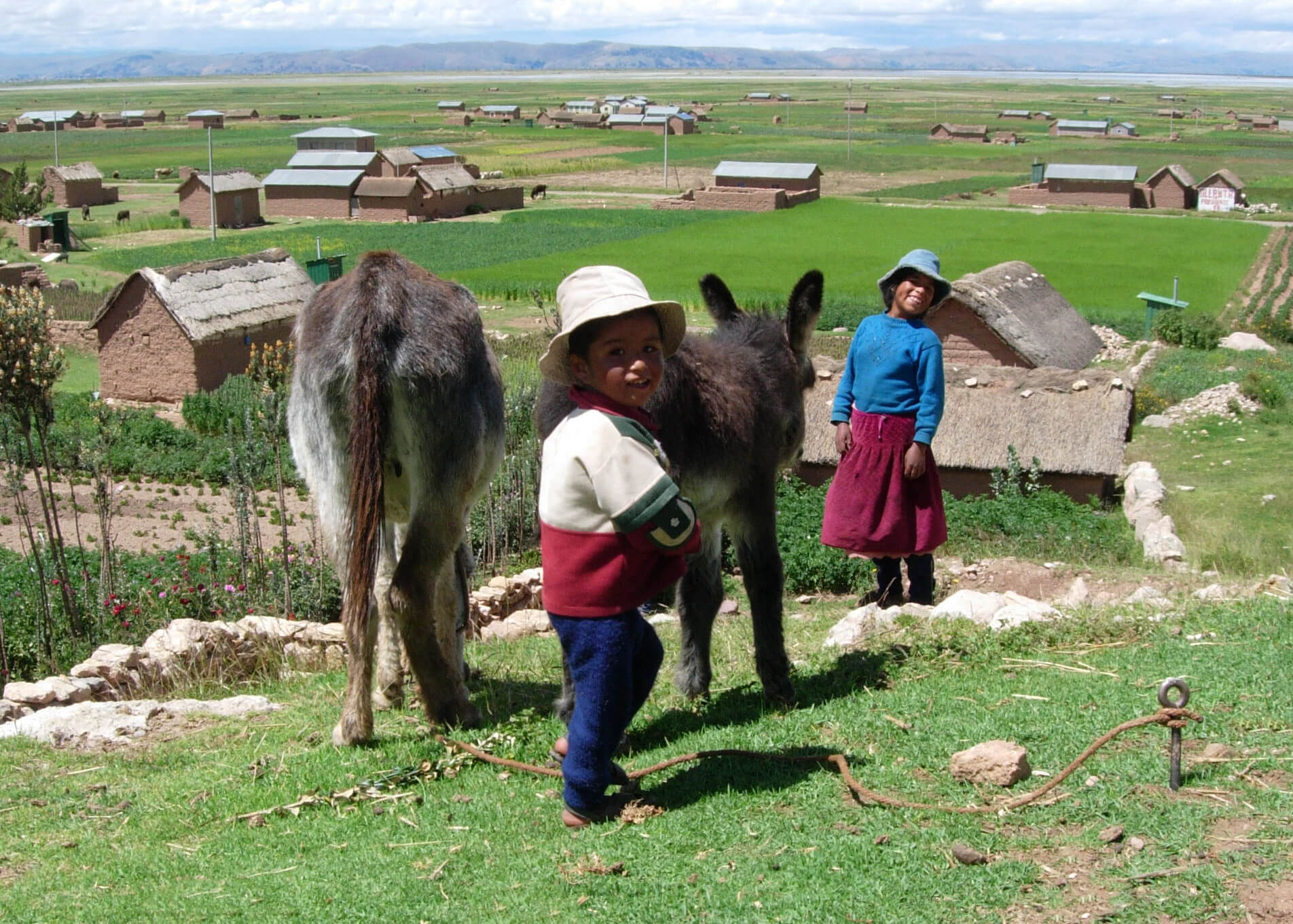 Dedicated to Ending Extreme Poverty in the Peruvian Highland Villages
